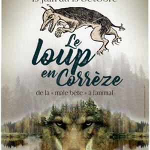 Exposition Le loup en Corrèze